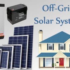 How to Design and Determine the Size of an Off-Grid Solar System